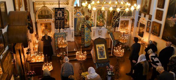 Покровский храм г. Хельсинки