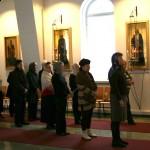 Литургия. Лахти, 14 Ноября 2009 г.